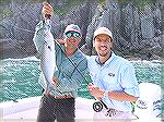 Fishing Amberjack, a small Bluefish loved my EP minnow.